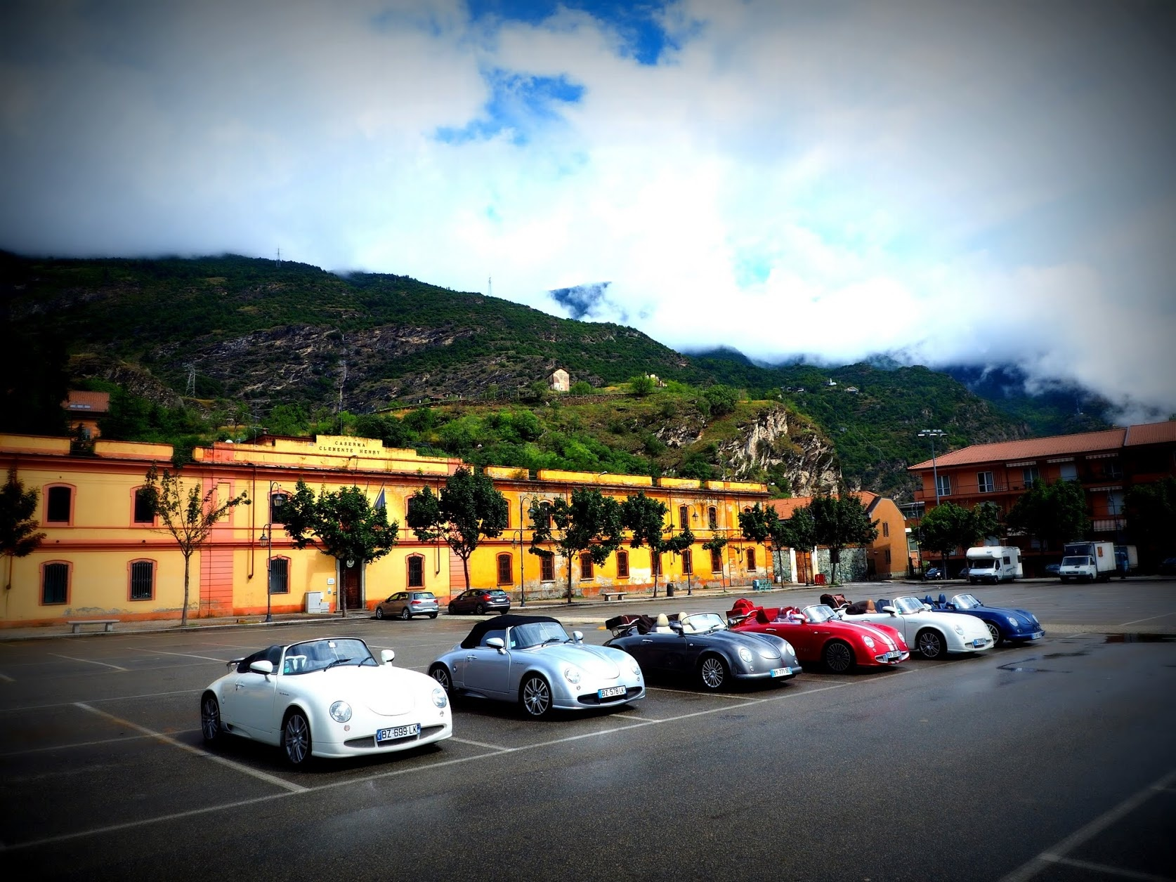 Sortie Club PGO dans les Alpes